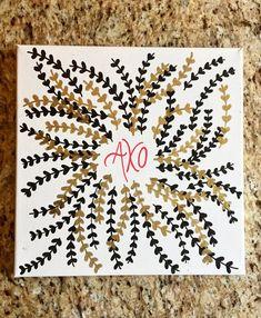 AXO Kappa Alpha Theta, Pi Beta Phi, Alpha Chi Omega, Phi Mu, Delta Gamma, Delta Zeta Crafts, Sorority Crafts, Theta Crafts, Big Little Basket