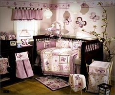 Baby Girl Nursery Bedding