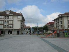Noja .  Plaza de la Villa de Noja