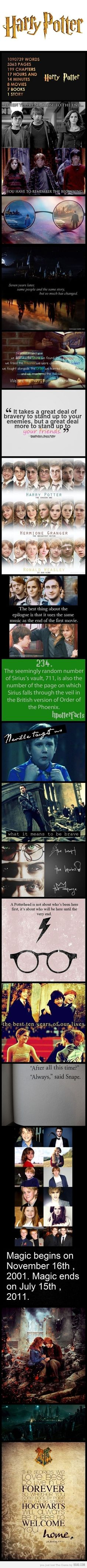 Harry Potter will always live on<3