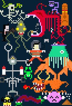 Title : Psychedelic  Style : 8bit