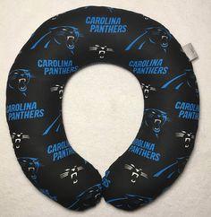 Carolina Panthers Travel/Neck Pillow