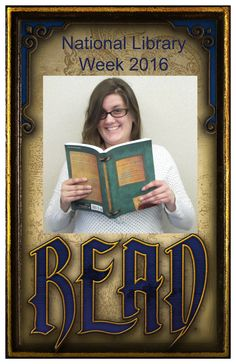 Celebrating National Library Week at Bellevue University Library - 10-15 April 2016.