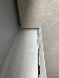The Truth About Mitres — Zephyr + Stone Small Wet Room, Beach House Bathroom, Tile Trim, Shower Niche, Bathroom Renovations, Bathroom Ideas, Mitered Corners, Wet Rooms, White Tiles
