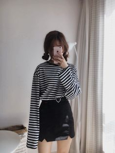 Stripes + leather