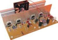 This is the RMS stereo power amplifier circuit project. This amplifier is based four pieces of power IC It's mean that every single channel of the circuit uses two ICs in bridge… Diy Electronics, Electronics Projects, Computer Projects, Hifi Amplifier, Audiophile, Schematic Design, Power Supply Circuit, Speaker Box Design, E 500