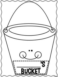 Bucketfilling steps poster have you filled a bucket for Bucket filler coloring page