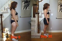 Jillian Michaels 30 day shred before and after weight loss by alissa
