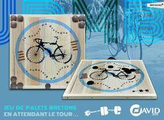 Palet Breton, Clock, Wall, David, Home Decor, Brittany, Cycling, Recipe, Outdoor Living