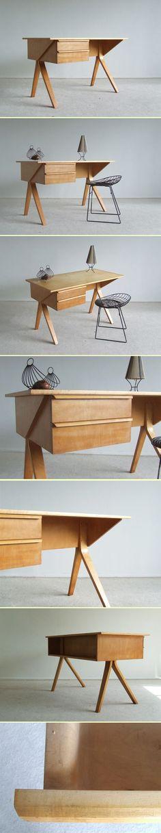 Desk braakman - Pastoe