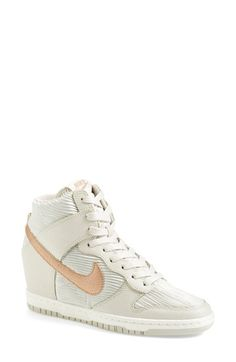 Nike+'Dunk+Sky+Hi'+Wedge+Sneaker+(Women)+available+at+#Nordstrom