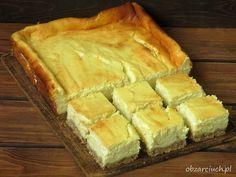 Sernik rosyjski - Obżarciuch Sweets Cake, Spanakopita, Cheesecakes, Apple Pie, Pudding, Baking, Ethnic Recipes, Food, Ferrero Rocher