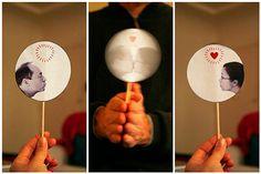 manualidad para regalar en san valentín hecha con una foto