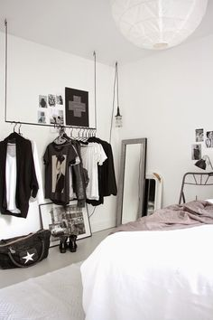 The fabulous black and white home of Dutch blogger
