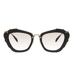 9c18faf64165 MIU MIU MU04Q cat eye sunglasses