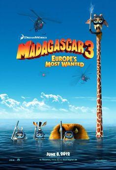 madagascar 3  Little Buddy family friendly movie reviews