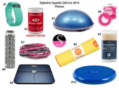 Gift Guide - Fitness 2015