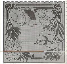 Gallery.ru / Фото #114 - Crochet Filet pour Point de Croix 1 - Mongia