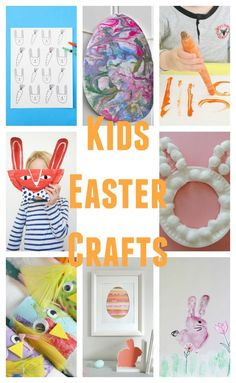 These cute Easter crafts for kids are all adorable and super kid-friendly.