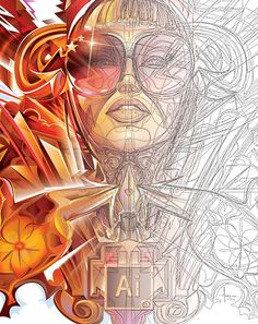 Adobe Illustrator CC2014 Splash Commission by Orlando Arocena