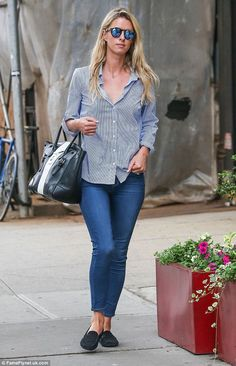 The calm before the storm:  Nicky Hilton was spotted  in New York City on Tuesday as she p...