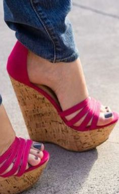 0b90494ba8 23 Best Cute wedges shoes images | Wedges, Beautiful shoes, Wedge shoes