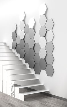 k - Deco Garden-Design Deco Design, Tile Design, Interior Walls, Home Interior Design, 3d Wandplatten, Acoustic Wall Panels, Plafond Design, 3d Wall Panels, Wall Panel Design