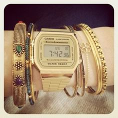 I want the casio vintage gold!!!!