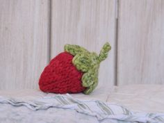 Strawberry Knitting Pattern - FREE
