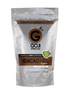 """Cacao Nibs [biologisch] 300g   zijn """"de chocolade chips."""" van moeder natuur."""