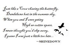 The Crow and the Butterfly- Shinedown