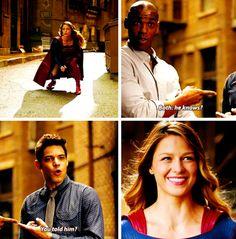 Kara Zol-el, Jimmy Olsen & Winslow Schott #Supergirl