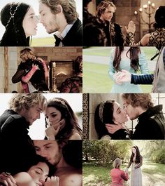 reign. Im in love with francis and mary. But theres also something about sebastian...