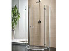Box doccia semicircolare in cristallo con porte a battente MULTI-S 4000 | Box doccia semicircolare - DUKA