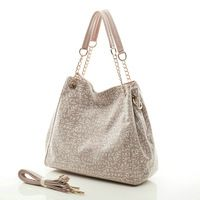2014 Korean version of the new winter fashion retro print chain handbags