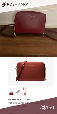 Jet set cross body bag (burgundy) Cross body bag with minimal wear in burgundy. Retails $198+tax selling for $150 MICHAEL Michael Kors Bags Crossbody Bags Michael Kors Jet Set, Cross Body, Crossbody Bags, Zip Around Wallet, Minimal, Burgundy, Shop My, Best Deals, How To Wear