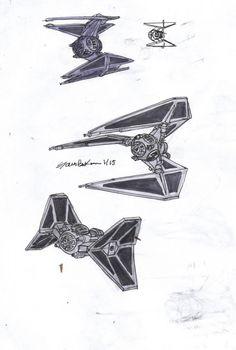 CamoDeafies' Sci-Fi drawings;