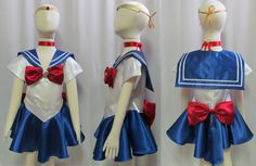 Child's Sailor Moon Costume Cosplay Costume Size by AGypsyRed, $45.00 - for my daughter who wants to be Sailor Moon for Halloween next year lol