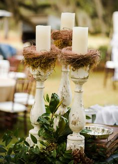 10 Pretty Centerpieces (Without A Flower In Sight!) - The Knot Blog