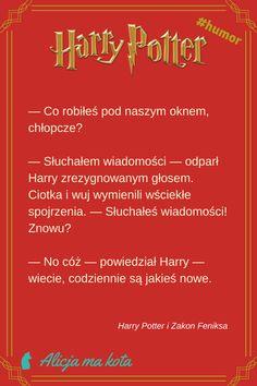 Harry Potter - śmieszne żarty, zabawne cytaty, ironiczne docinki Harry'ego Pottera | Wiadomości #HarryPotter #cytat #cytaty #książki Harry Potter Quotes, Harry Potter World, Hermione, Draco, Jily, Wolfstar, Humor, Memes, Funny