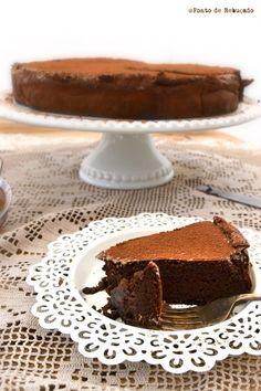 Bolo de chocolate com canela (sem farinha)
