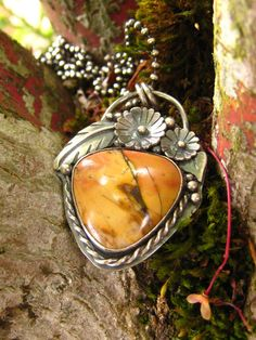 Cherry Creek jasper necklace