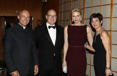Princess Charlene and Prince Albert at 'Prince Albert II Foundation' gala dinner