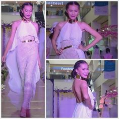 MODEL: Kay Marie Berangel | Hair and Make-Up by: Ryle Young | Gown designed by: Edward James Castro | Photograph by: Edward James Castro - bridal - gold choker Gold Choker, Prom Dresses, Formal Dresses, World Of Fashion, Chokers, Photograph, Gowns, Bridal, Model