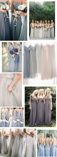 BRYLLUP  om brudepiger og kjoler  Acie  Stylista