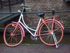 bike, neoncolors, Amersfoort