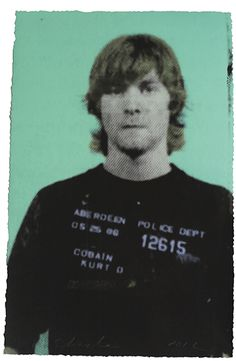 Kurt Cobain #mugshot #art