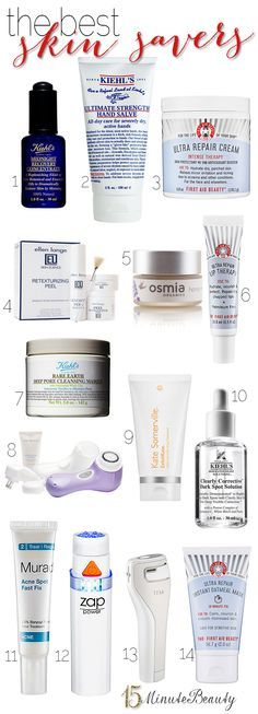 Great list of #skincare to solve any problem!