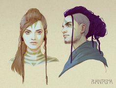 Phantasma: Jun and Seth by DjamilaKnopf on DeviantArt
