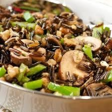 Black Walnut Wild Rice Recipe - White rice is boring, so stuff this wild rice recipe with walnuts and enjoy rice again. # Recipes #Rice #thanksgiving